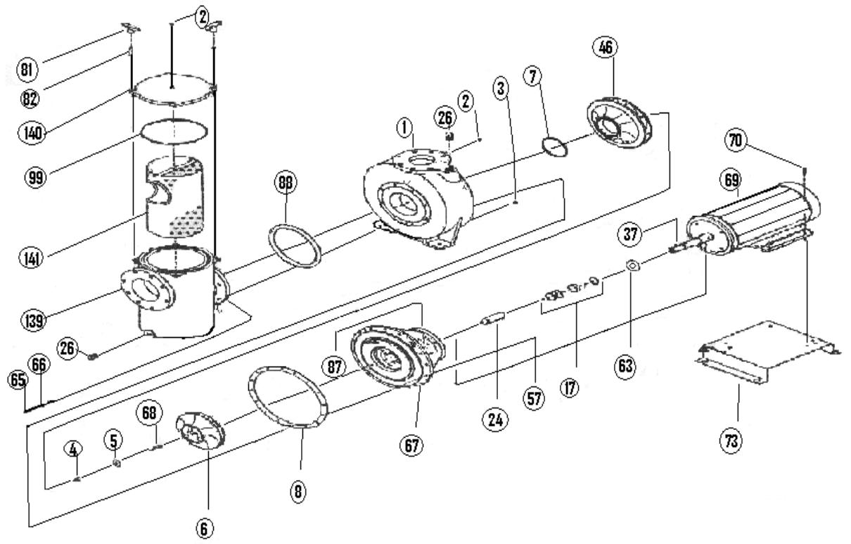 4SPC15 Parts