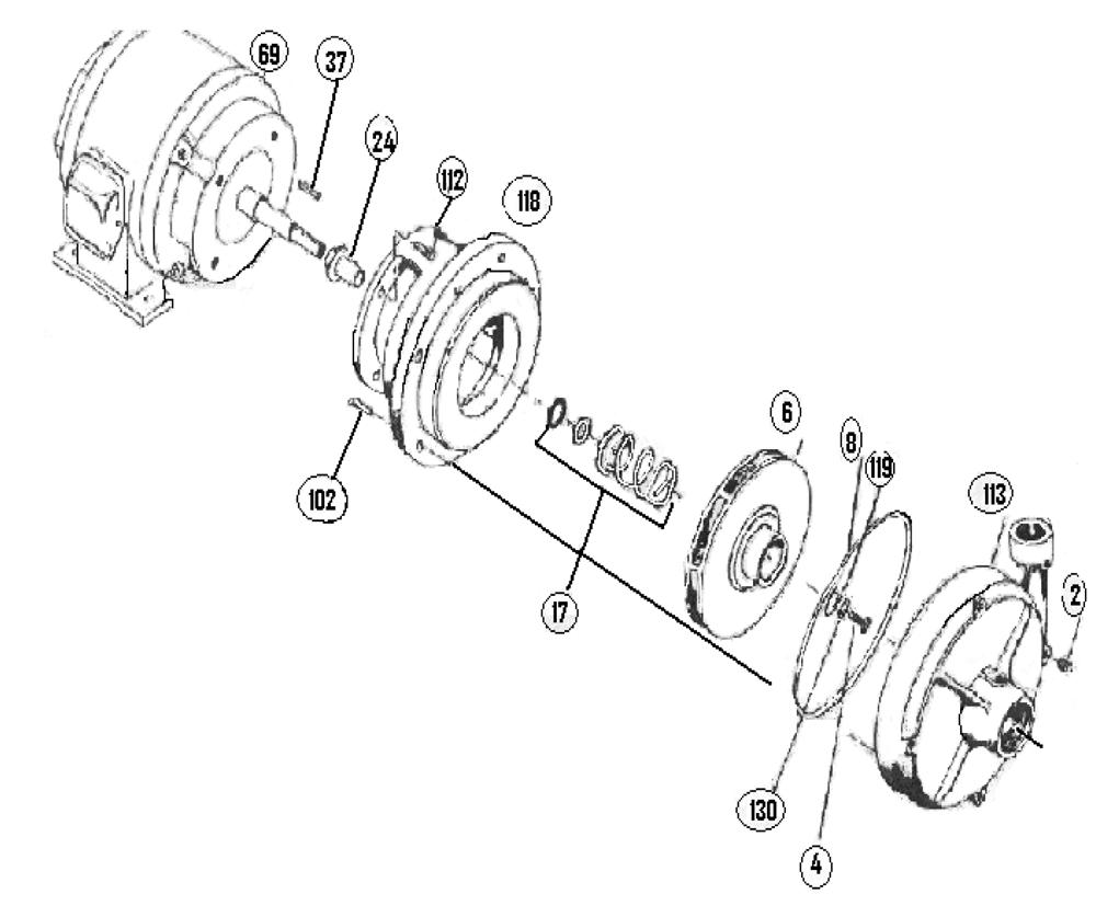 2-1/2L1SC Parts