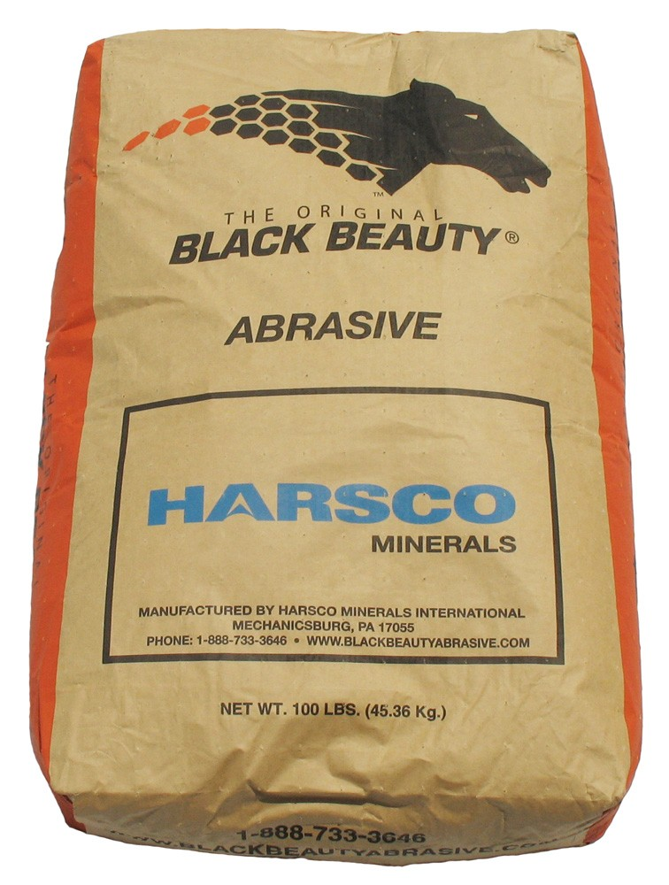 Black Beauty, Medium, 12-40 Mesh, 100LB